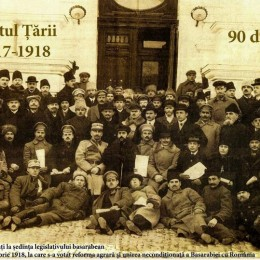 100 ani de la decizia istorică de Unire a Basarabiei cu Romănia