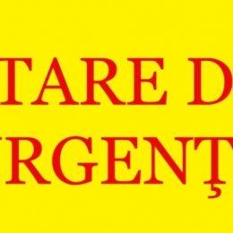 ORDIN PRIVIND PROGRAMUL DE ACTIVITATE PE PERIOADA STĂRII DE URGENȚĂ!!!